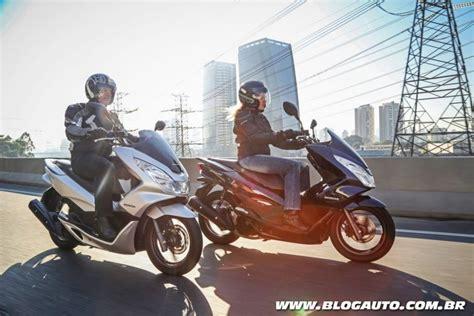 Pcx 2018 Cor Azul by Scooter Honda Pcx 2018 233 Lan 231 Ado Cor Blogauto
