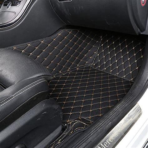 Worthmats Custom Fit Luxury Xpe Leather Waterproof Floor