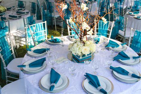 turquoise and twinkle light wedding 8 maybe one day turquoise wedding decor