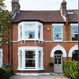 terrace sash windows and bay windows on pinterest With interior design terraced house uk