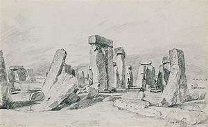 Stonehenge Wiltshire Drawing by John Constable