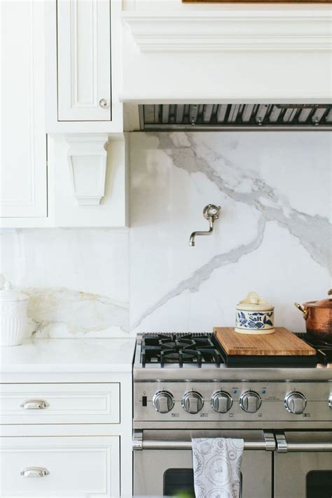 Wonderful Onepiece Back Splash Behind Stove  Content In