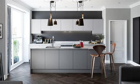 the kitchen collection uk handless kitchen doors strada matte uform