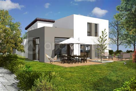 plan de maison contemporaine 4 chambres cuisine gorgeous plan maison en u plan de maison en u