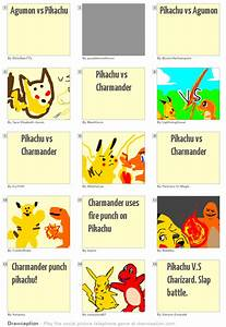 Agumon vs Pikachu