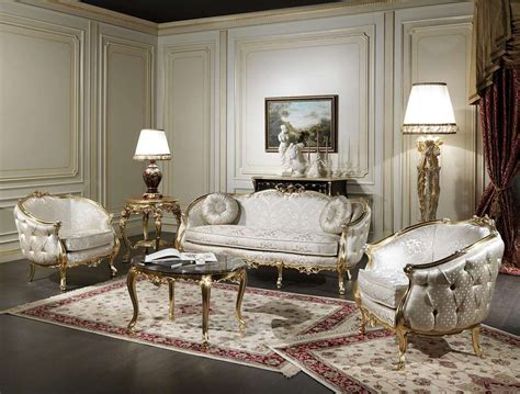 luxury classic venezia living room set   french