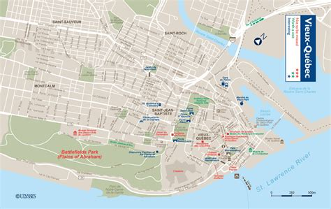 quebec city hotels map  worlds  hotels