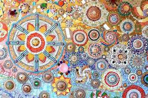 Mosaikbilder Selber Machen : mosaik wand dekorative ornament aus keramik gebrochenen ~ Whattoseeinmadrid.com Haus und Dekorationen