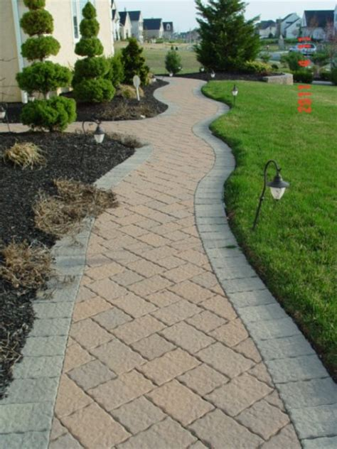 pavers for walkways ideas paver walkway new jersey masonry contractor