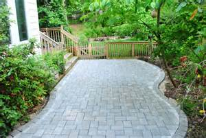 DIY Paver Stone Patio