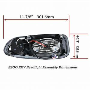 Ezgo Rxv Led Deluxe    Street Legal Light Kit