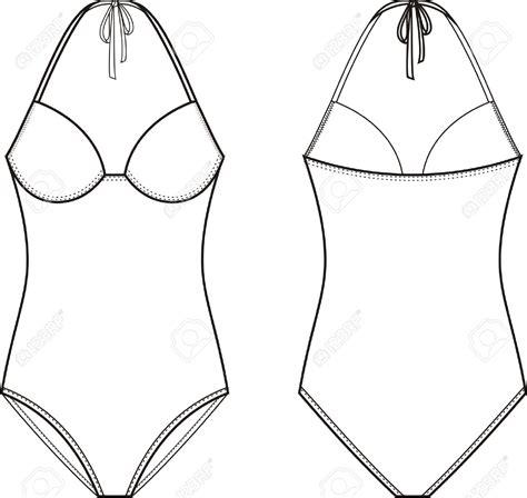 bathing suit drawing  getdrawingscom
