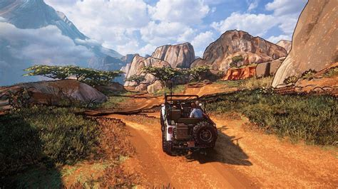 uncharted    great   cel shading