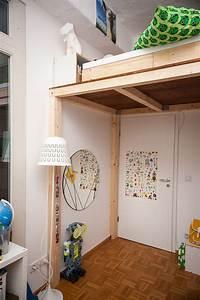Hochbett 140x200 Selber Bauen : ein hochbett selber bauen diy anleitung butterflyfish ~ Orissabook.com Haus und Dekorationen