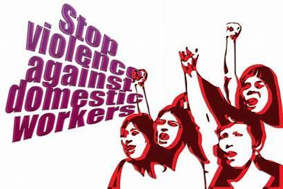 Violence Gender Based Stop Domestic Workers Against