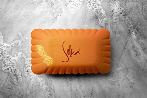 This is an awesome looking soap box packaging mockup in which you can place the design on the box. Soap Bar Mockup with Foam - Free Download