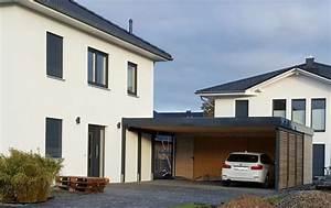 Haus Mit Doppelcarport : carport am haus mit schuppen cp03 hitoiro ~ Articles-book.com Haus und Dekorationen