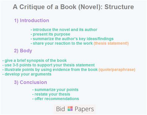 write  critique