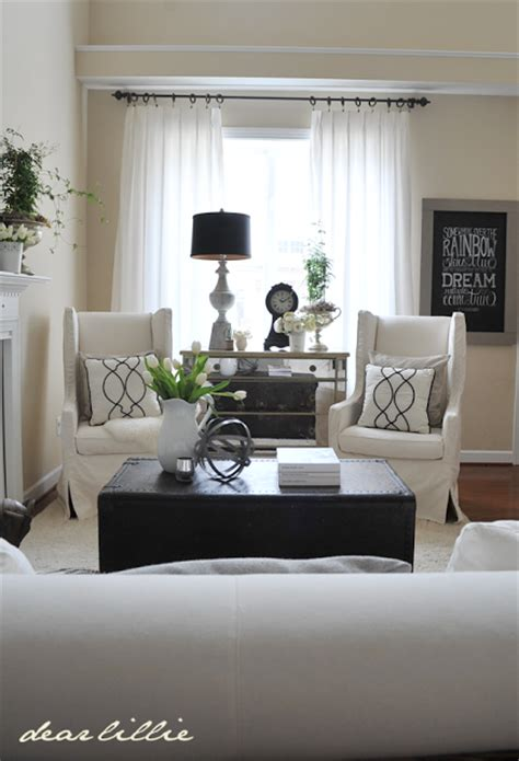 Formal Living Room Furniture Layout by Dear Lillie Day 1 One Room Three Ways