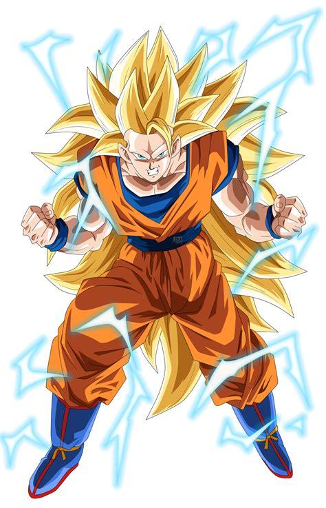 Imagen Goku Ssj3 Tc Dragon Ball Fanon Wiki
