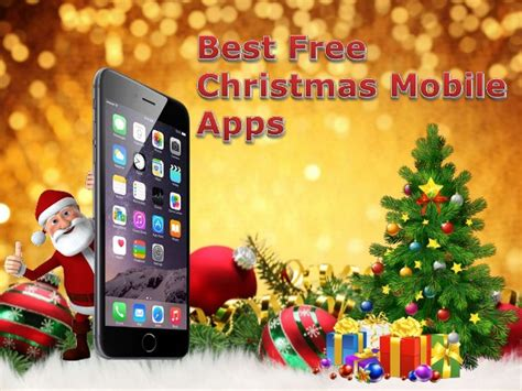 best free christmas mobile apps