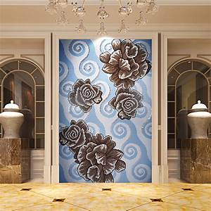 Crystal glass mosaic tile puzzle wall backsplashes