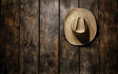 Cowboy Background Hat Wood Abstract Western Country