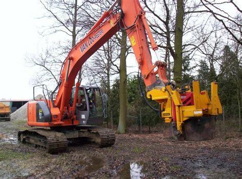 excavator mounted damcon