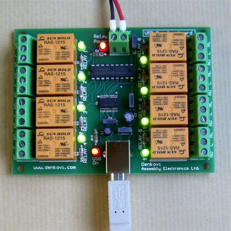 Lanmisoft Automation Controlled Relay Board