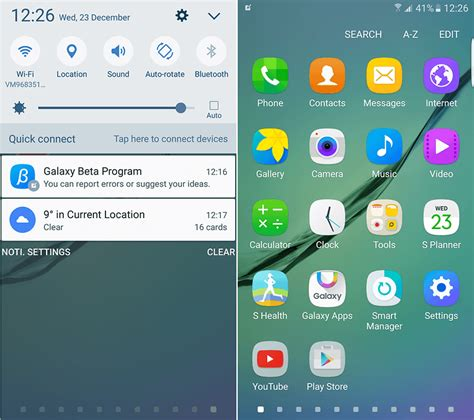 new android update samsung galaxy s6 android update news androidpit