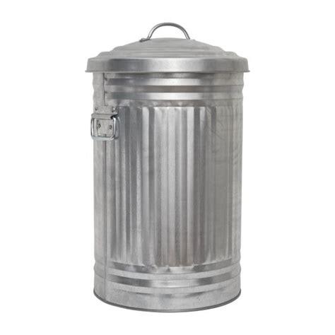 poubelle de cuisine inox alto poubelles argenté métal habitat