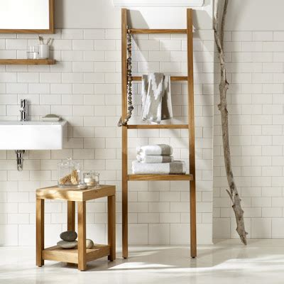 teak bath shelf west elm gold notes style list 1 the 150 max bathroom edition