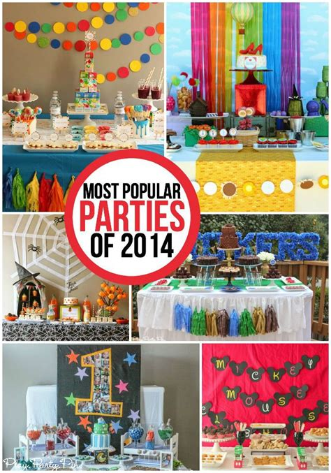 10 most creative birthday party themes for 10 of the most popular of 2014 including all sorts