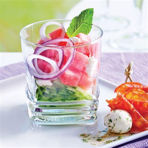 cuisine concombre melon d 39 eau et concombre à la grecque recettes cuisine