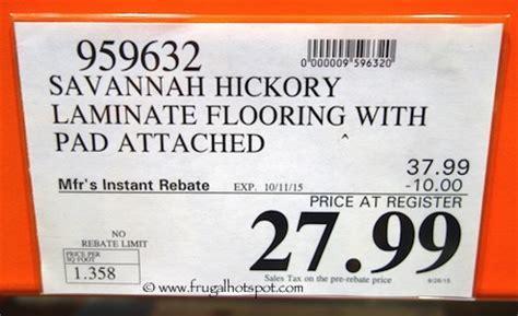 Harmonics / Unilin Laminate Flooring Savannah Hickory