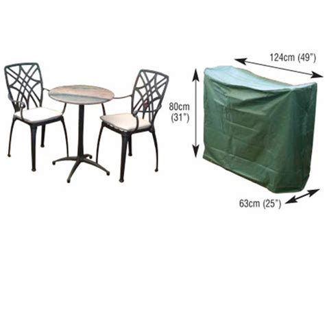 2 seater bistro furniture set cover the garden factory