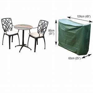 2 seater bistro furniture set cover the garden factory for Garden furniture covers 8 seater