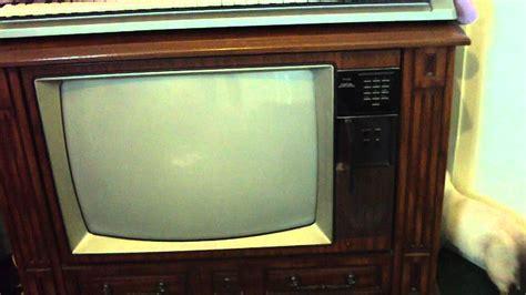 25 quot rca colortrak console television