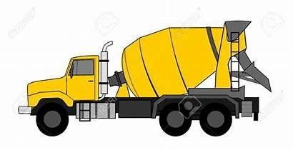Concrete Truck Mixer Clipart Vector Cement Vehicle