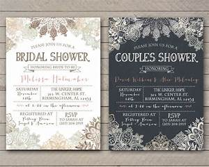 vintage lace shower invitation bridal couples baby With free printable vintage wedding shower invitations