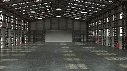Warehouse Storage Industrial Rent Max Empty 3d
