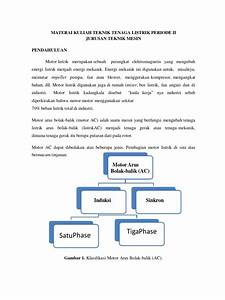 Ttl Mesin  Motor Motor Listrik Bolak Balik  3