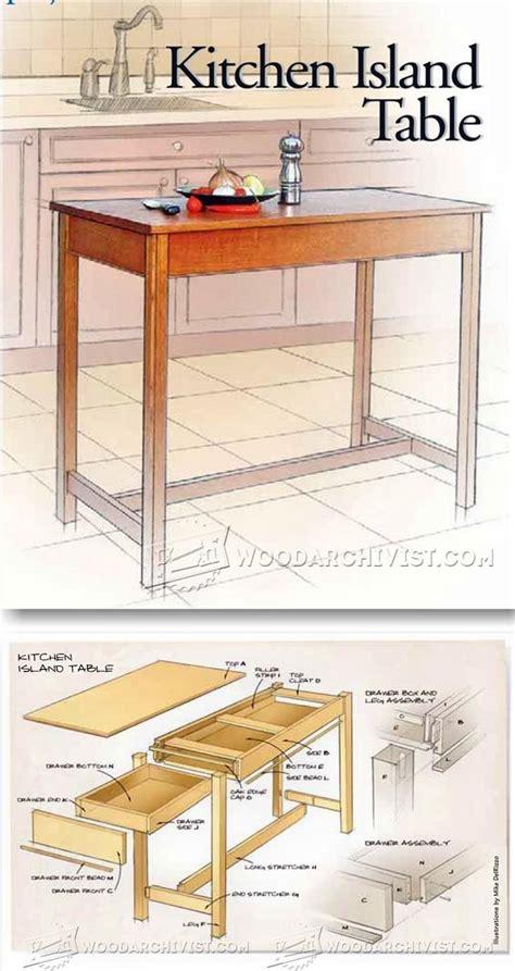 woodworking plans kitchen island 2443 best makeovers diys images on crafts
