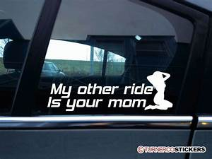 Hilarious My Other Car Is A Blank Bumper Stickers