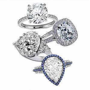 large diamond engagement rings bridescom With large diamond wedding rings