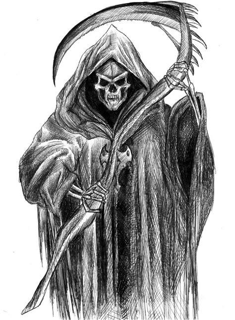 Scary Grim Reaper Drawings Twizzy
