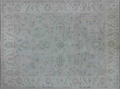 Knotted Oriental Rug Peshawar Rugs