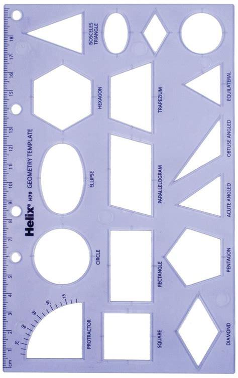 geometry template helix geometry shape template ebay