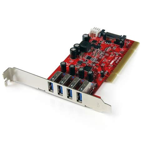 port pci usb  card  sata power usb  host