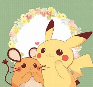 Dedenne and Pikachu   Pokémon   Know Your Meme